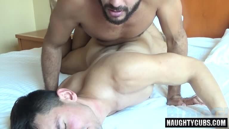 Latin gay studs fucking condomless