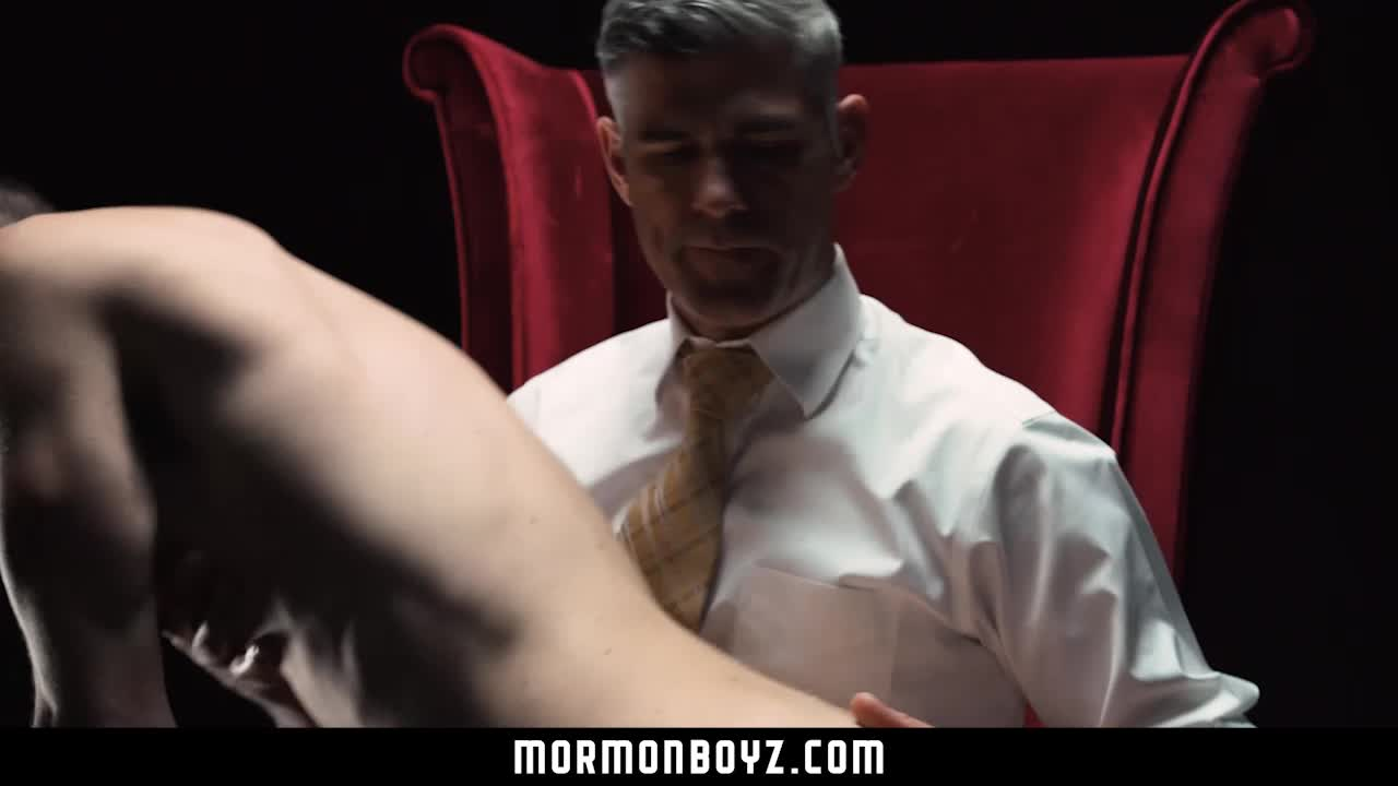 Mormonboyz Dominant Priest Spanks Naughty Mormon Boy