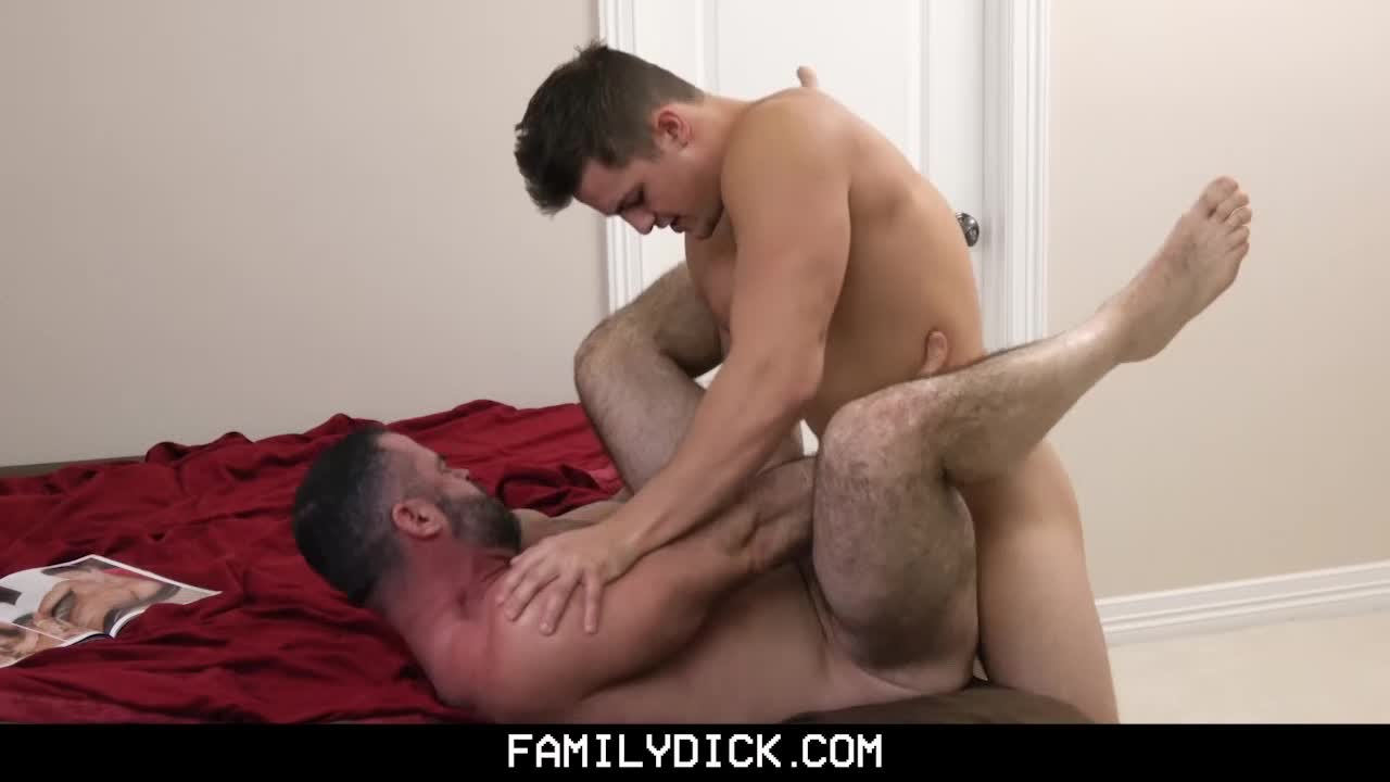 gay porn dad caught