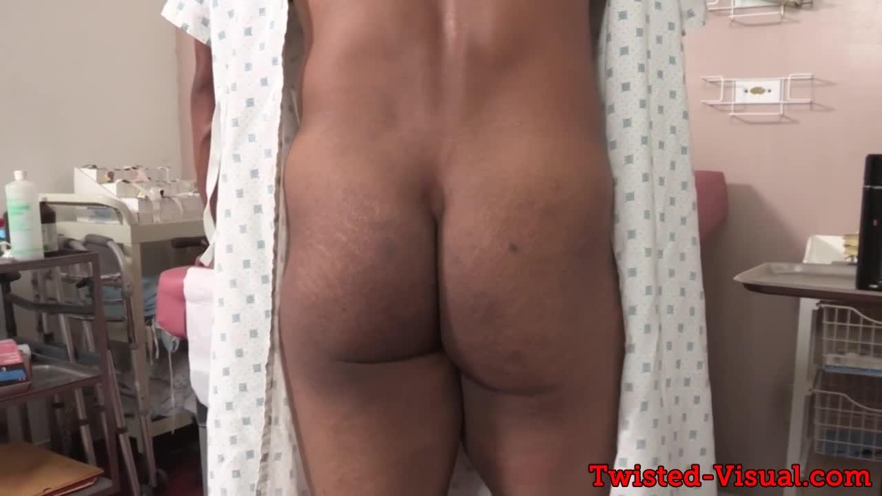 Black hunk pegged at the hospital