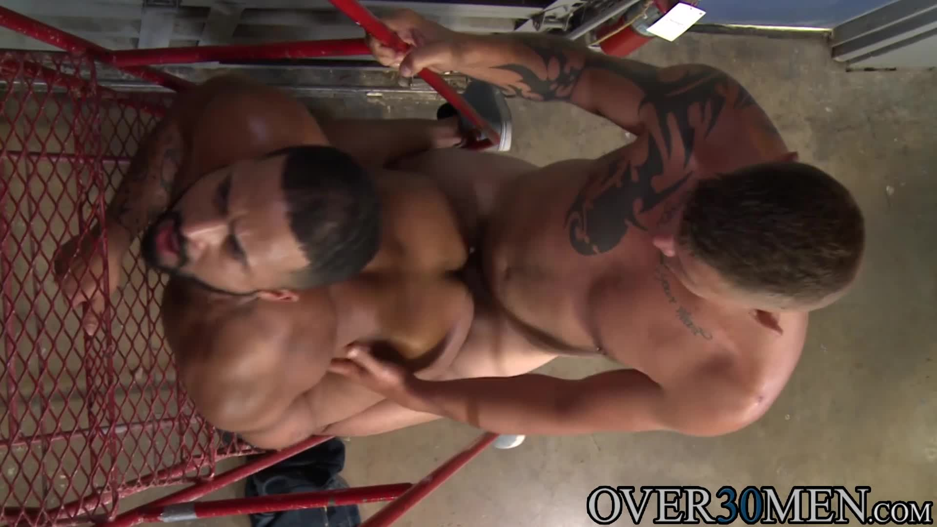 Jace chambers and damian taylor have kinky gay sex
