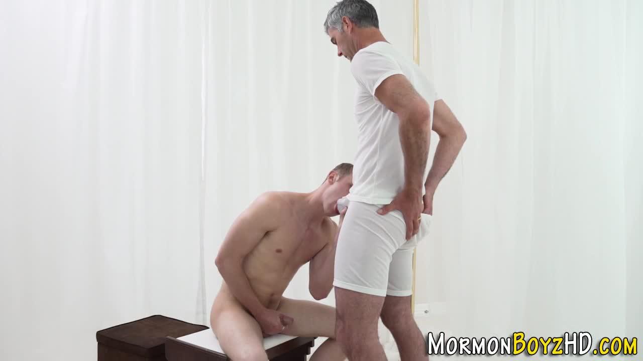 Mormon boyz gay fucking with a jacked