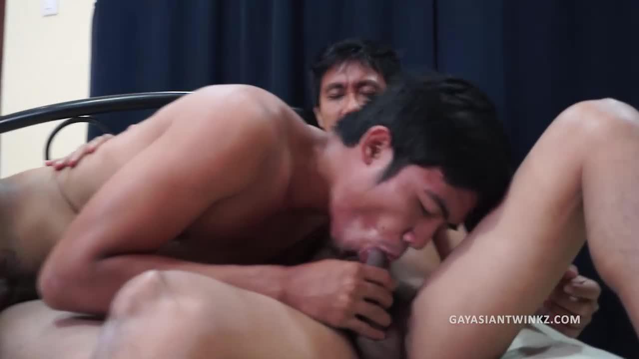 Asian Boys Ricky And Kris Barebacking