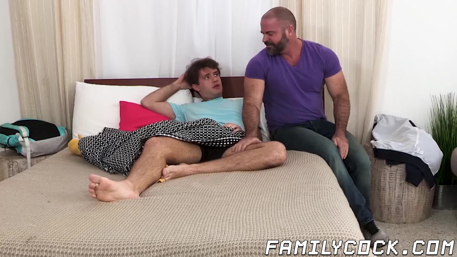 Hot Mom Caught Jerking Off Son