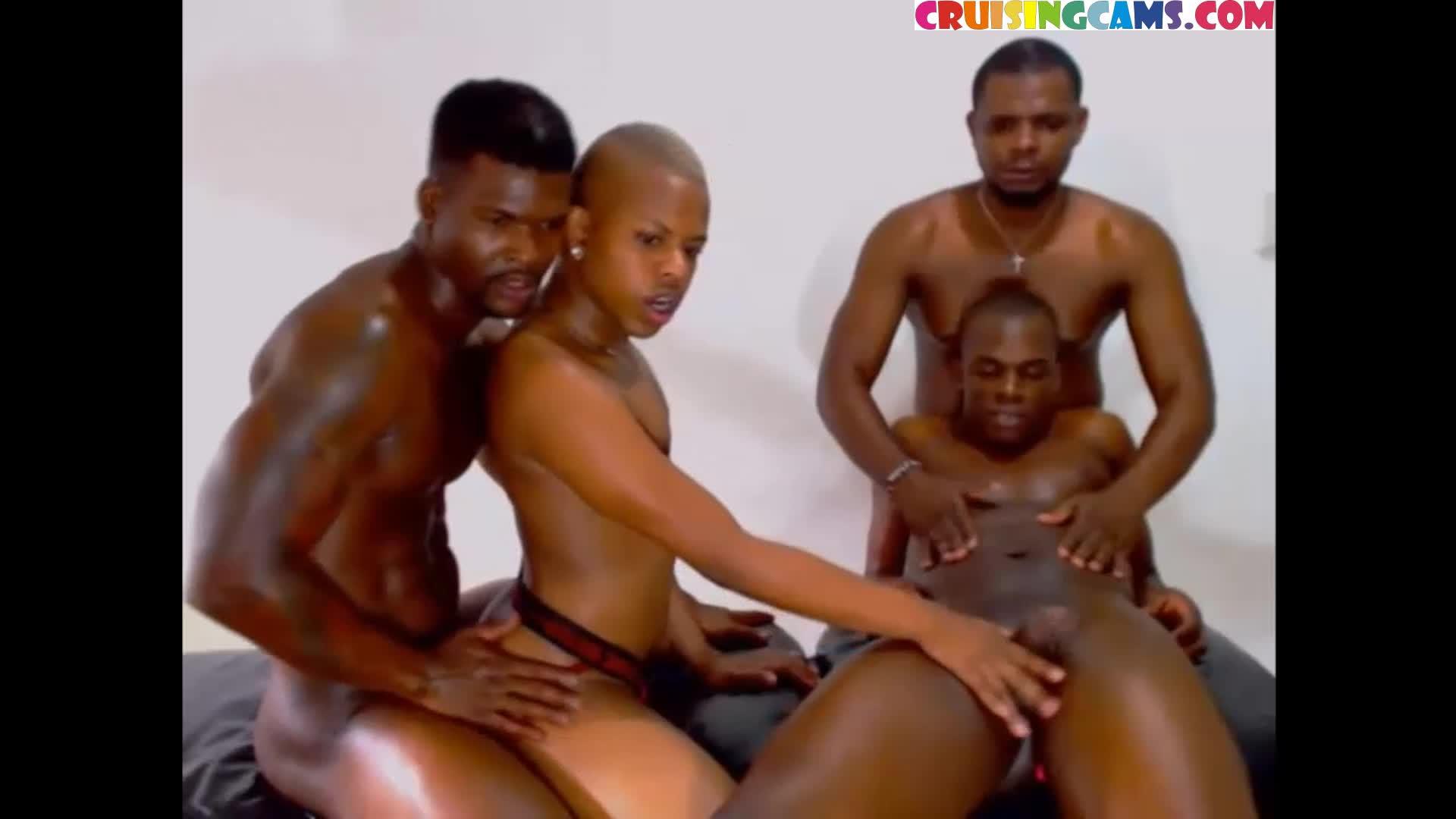 Ebony Gay Gangbang Png