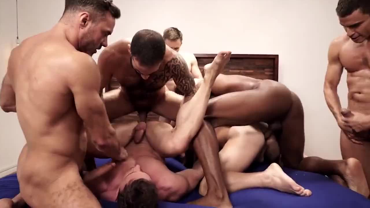 Sexy Group Sex with Stranger Big Dick Mens and Cum in Mouth